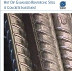 Hot Dip Galvanized Reinforcing Steel A Concrete Investment