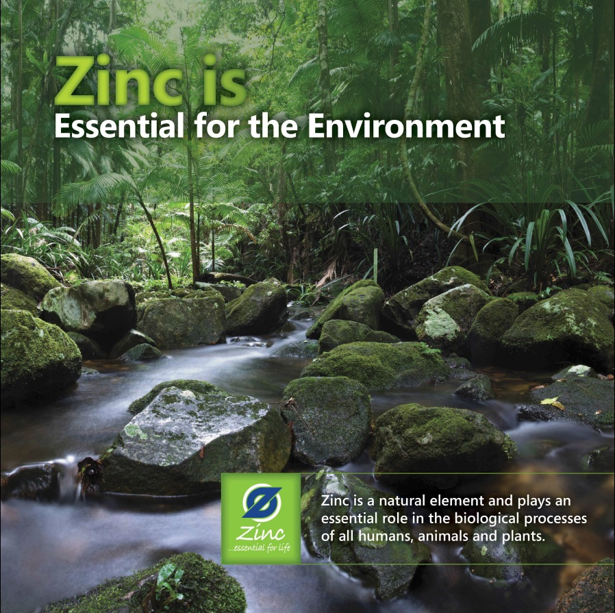 Zinc is Essential for the Environment