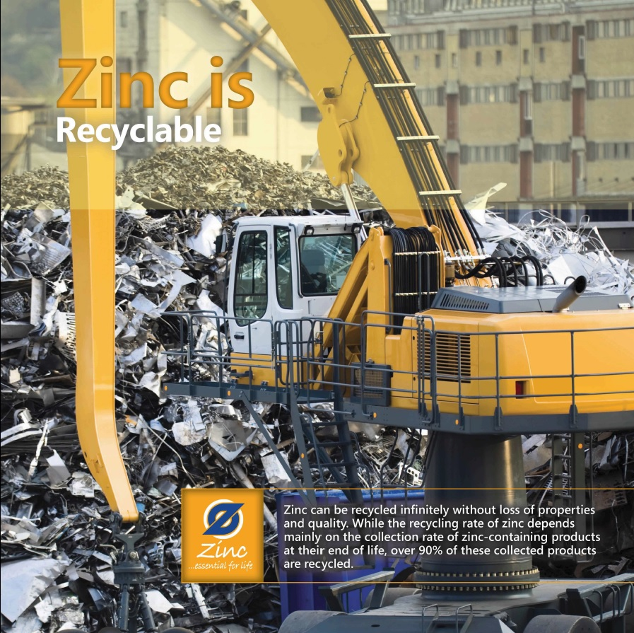 Zinc is Recyclable
