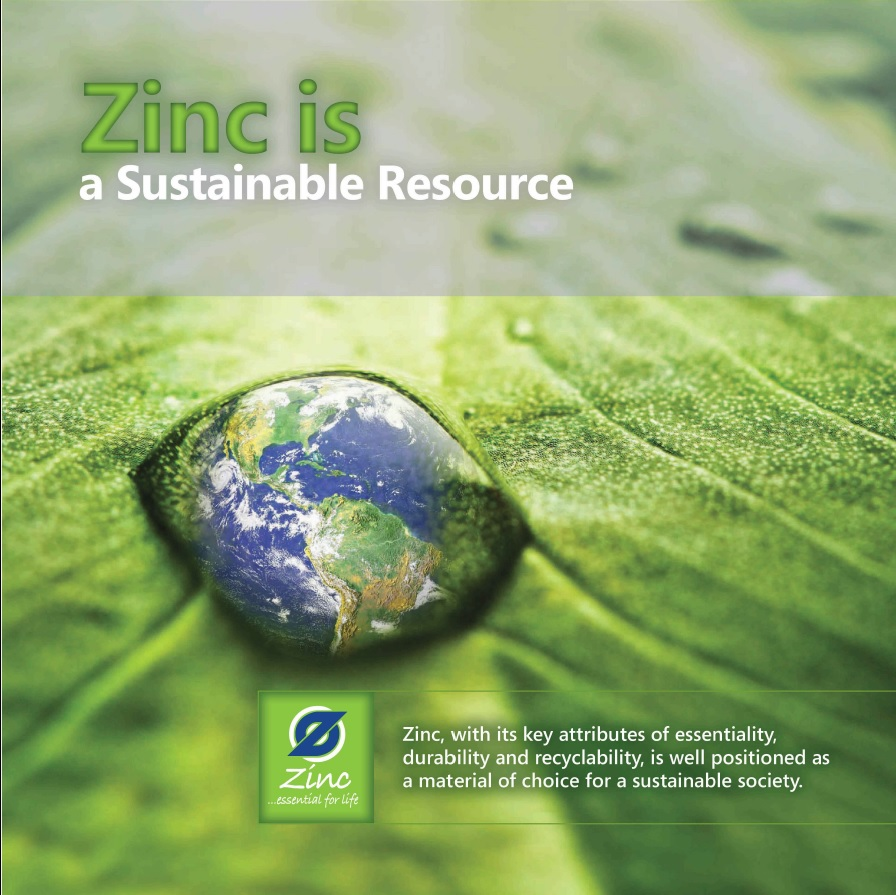 Zinc is a Sustainable Resource