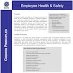 Employee Health Safety